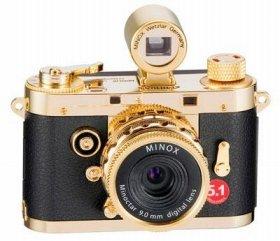 「Digital Classic Camera MINOX DCC 5.1 GOLD」