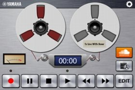 ヤマハ iOSアプリケーション「Cloud Audio Recorder」