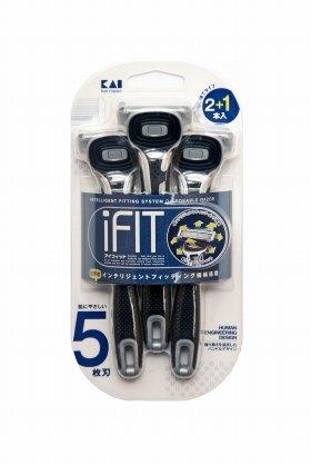 男性用5枚刃ディスポカミソリ「iFIT」