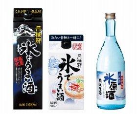「氷でうまい酒」と「氷原酒」