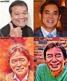 西田敏行さんら4人の俳優が中心となって進める「笑顔でつなぐ!プロジェクト」