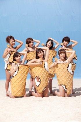 7人の美女が いっぱいかじってね ロッテのアイス ザクリッチ Cmはちょっぴりセクシー J Cast トレンド 全文表示