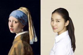 並べてみると似てる…かも?/ヨハネス・フェルメール 「真珠の耳飾りの少女」 1665年頃 マウリッツハイス美術館蔵