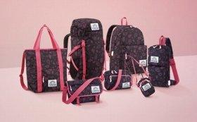 黒×ピンクのペイズリーは新鮮