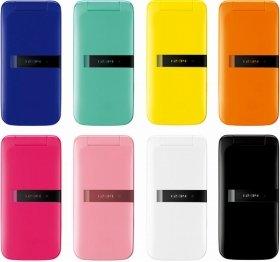 上段:左から、ネイビー/ミントグリーン/イエロー/オレンジ、下段:左から、ビビッドピンク/ライトピンク/ホワイト/ブラック