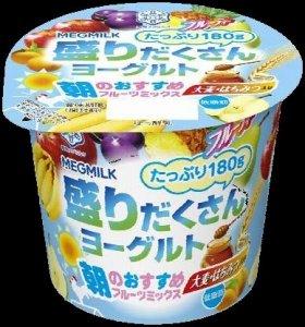 『盛りだくさんヨーグルト 朝のおすすめフルーツミックス』180g