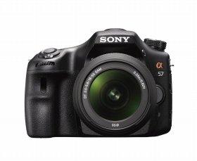 レンズ交換式デジタル一眼カメラ「α57」