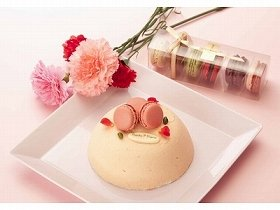 ローズデコレーションケーキ(2100円)