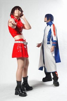 写真提供:(株)音羽出版『コスBON』Fantasy ライブゲートで2012年6月3日にイベント開催