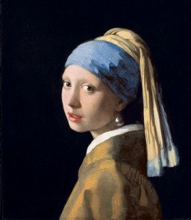 ヨハネス・フェルメール 「真珠の耳飾りの少女」 1665年頃 マウリッツハイス美術館蔵