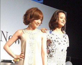 高垣麗子さん(左)と浦浜アリサさん