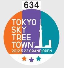 東京スカイツリータウン開業PRヘッドマーク(イメージ)