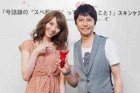 安座間美優さん(左)と森ユキオさん(右)