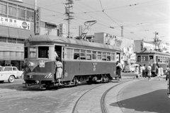 静岡鉄道 清水市内線 新清水駅(1965年) (C)諸河 久