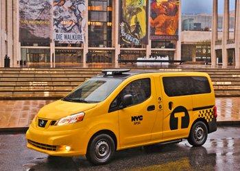 「NV200」がニューヨークを走る