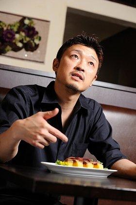 「Bistro GINSAI(ビストロ・ギンサイ)」店長川岡さん