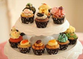 かわいいカップケーキで、心もお腹もハッピー
