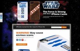 「ドロイドたちがジェダイを守るように、あなたのiPhoneの守りを強化します」