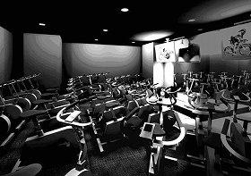 スタジオのイメージ写真。レッスンスタジオらしからぬ雰囲気が魅力