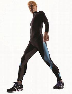運動時の筋肉などの動きにあわせた設計