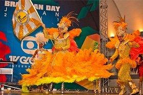 2011年の「第6回ブラジルフェスティバル/ブラジリアンデー・ジャパン」の様子