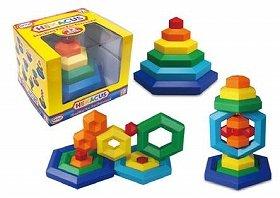 大小さまざまなブロック