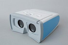 「WOC-i(ワックアイ)」。元になった「ワック」は、全国の眼科医院の4割が採用するというロングセラー機器だ