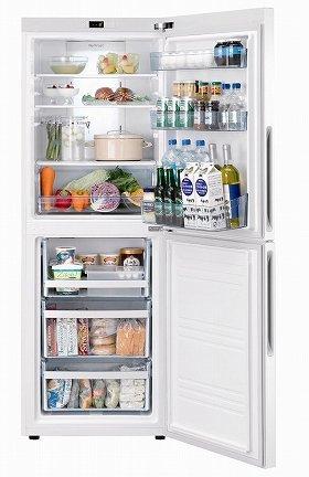 ハイアールの「JR-NF305A(W)」。大容量の冷凍室が特徴だ