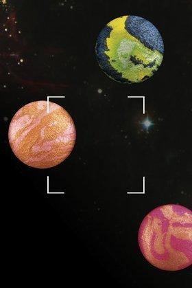 天体望遠鏡で星を探している気分に