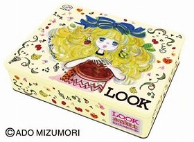 「LOOK×水森亜土 お菓子入り亜土ちゃん缶」 (C)ADO MIZUMORI