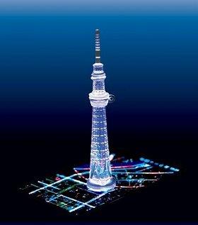 使用イメージ (C)TOKYO-SKYTREE (C)WiZ