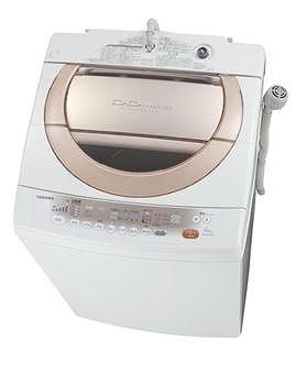 「抗菌水」が洗濯中に衣類を抗菌!(写真は、「AW‐80DL」ピンクゴールド)