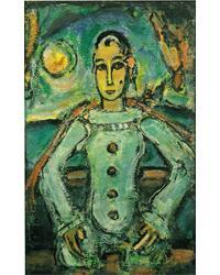 「貴族的なピエロ」(1941~42年頃)アサヒビール蔵