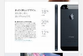 アップル社が21日発売するiPhone5