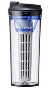 飲み口が特徴の「クリンスイ タンブラーTM804」(写真は、「TM804 クリブルー」)