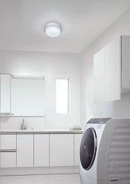 シンプルなデザインで、しっかりとした明るさ(写真は、「ラウンドタイプ」の使用イメージ)