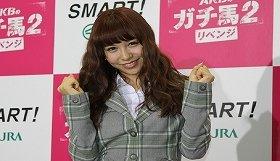 「日本一ラッキーな女の子」AKB48の河西智美さん