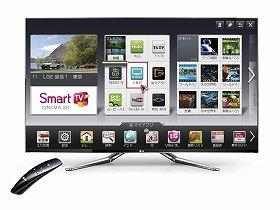 スマート家電の一例。スマートテレビを打ち出した「LG Smart TV」