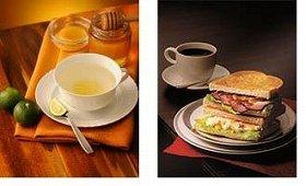 選べるトッピングの「柚子ネード」と2段テイストの「ローストビーフとチーズポテト」
