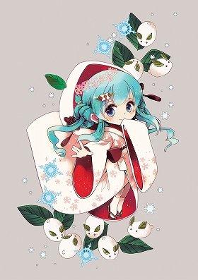 Illustration by CHRIS 雪ミク2013衣装原案:虹汰 (C)Crypton Future Media, Inc. www.piapro.net
