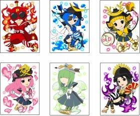 「大召喚!!マジゲート」の世界に登場する6人のおねがい戦士