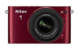 「Nikon 1 J3」(レッド)