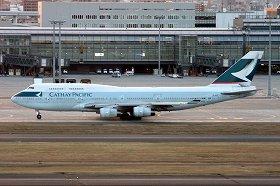 キャセイパシフィック航空は日本-香港間を週に120便運航している