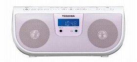 A4サイズの小さなCDラジオ(写真は、「TY-CR11」)