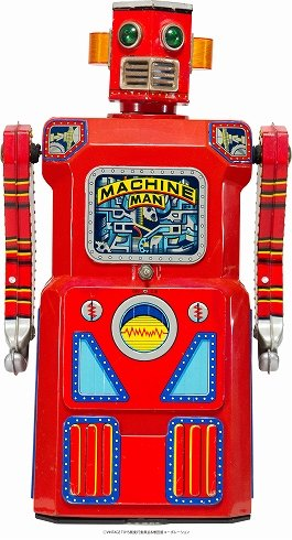MACHINE MAN (C)VINTAGE TOYS展/増田屋コーポレーション