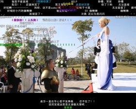 「COS婚礼」後半では、「Fate」キャラにお色直し