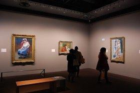 「奇跡のクラーク・コレクション― ルノワールとフランス絵画の傑作」の様子