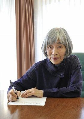 Kindleでも作品「abさんご」が配信されることになった黒田夏子さん