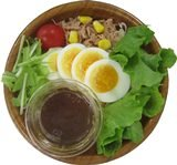 写真は「ごぼうソースで食べるサラダ」