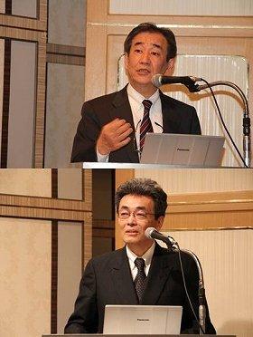 上村先生(上)と髙木先生
